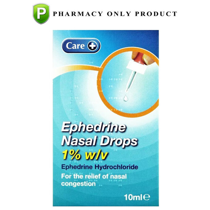Ephedrine Drops 1% 10ml