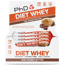 Diet Whey Bar 12 Bars Chocolate Peanut