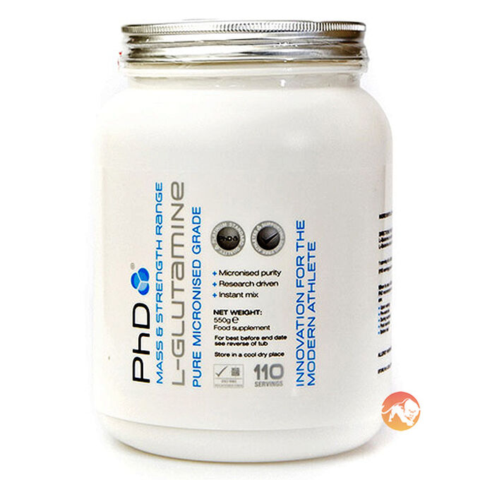 PHD Nutrition Micronised L-Glutamine 250g