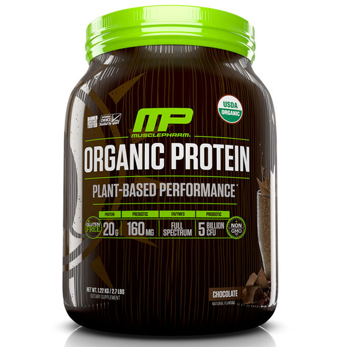 MusclePharm Organic Plant Based Protein 15 Servings Chocolate