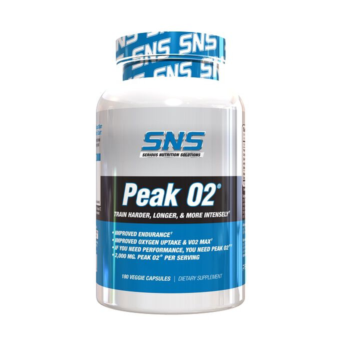 Serious Nutrition Solutions Peak O2 180 Capsules
