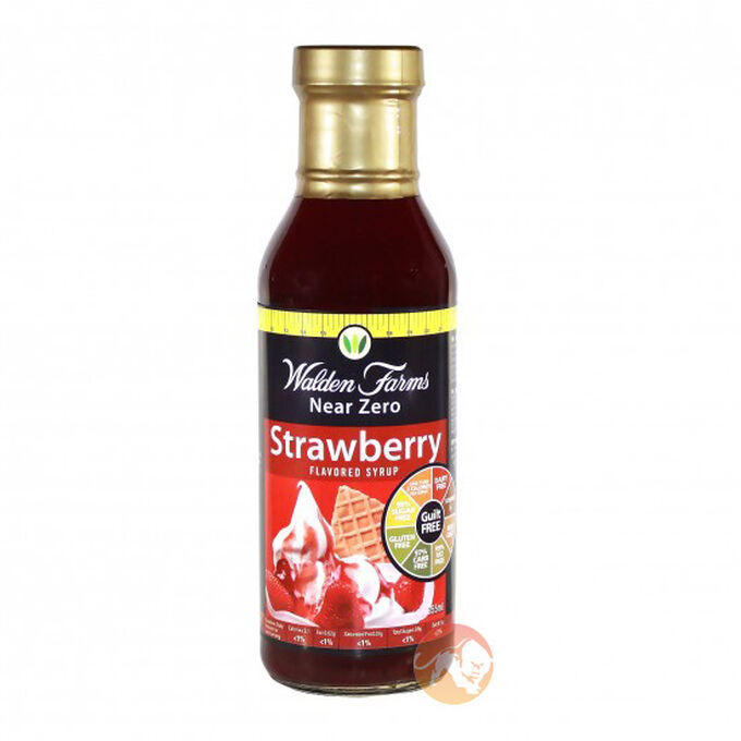 Walden Farms Calorie Free Strawberry Syrup 340g