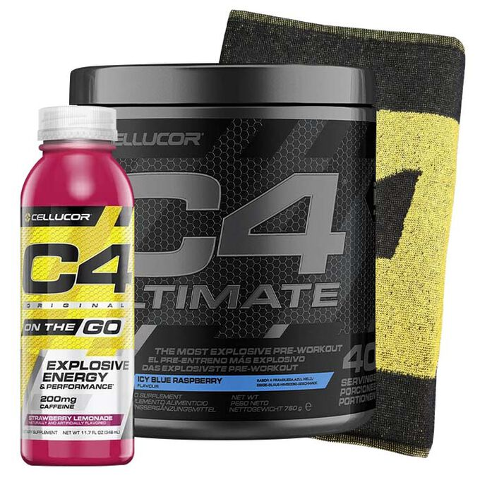 Cellucor C4 Ultimate 40 Servings Icy Blue Raspberry