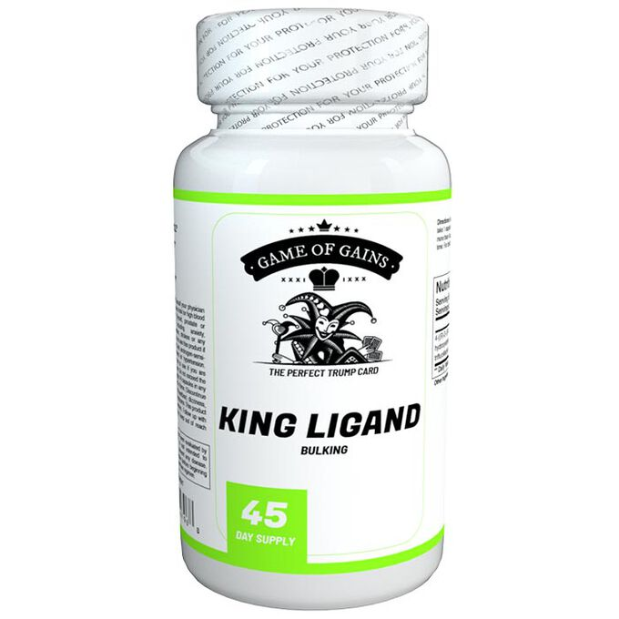 Game Of Gains King Ligand 90 Capsules