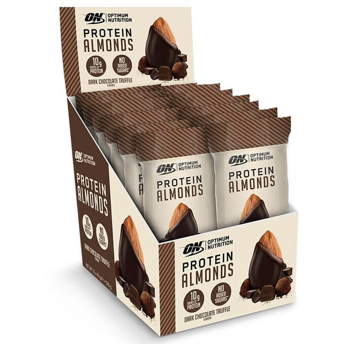 Protein Almonds 12 Pack Dark Chocolate Truffle