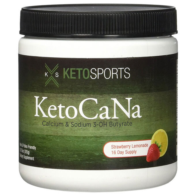 KetoCaNa 305g Strawberry Lemonade