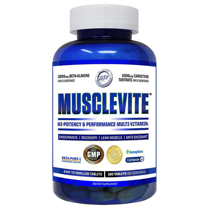 Musclevite 180 Tablets