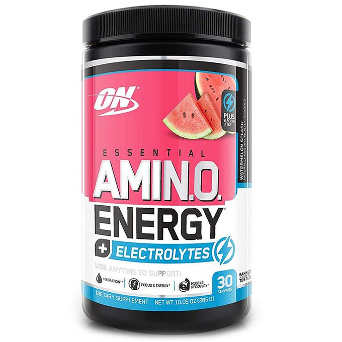 Optimum Nutrition Amino Energy + Electrolytes 30 Servings Watermelon Splash