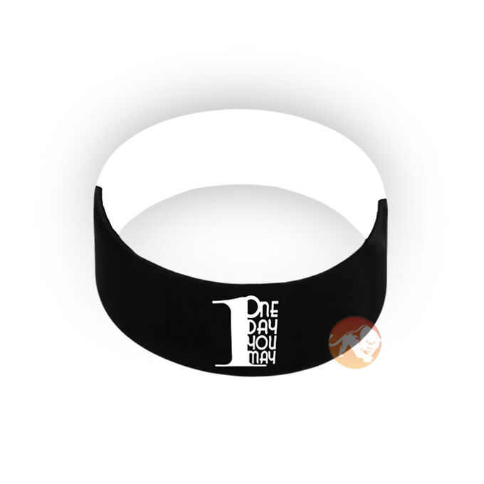One Day You May Wrist Band