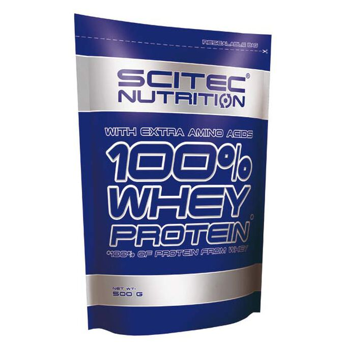 Scitec Nutrition 100% Whey Protein 500g Chocolate