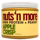 Nuts n More Peanut Butter 454g Apple Crisp