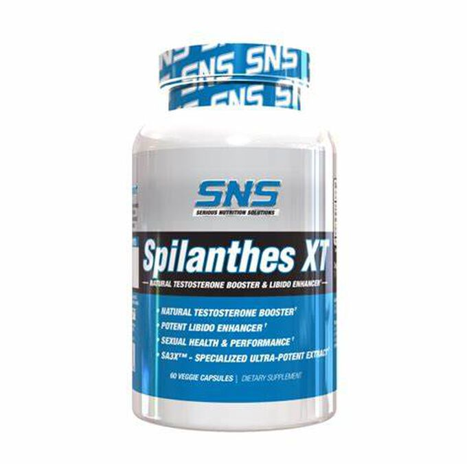 Serious Nutrition Solutions Spilanthes XT 60 Capsules