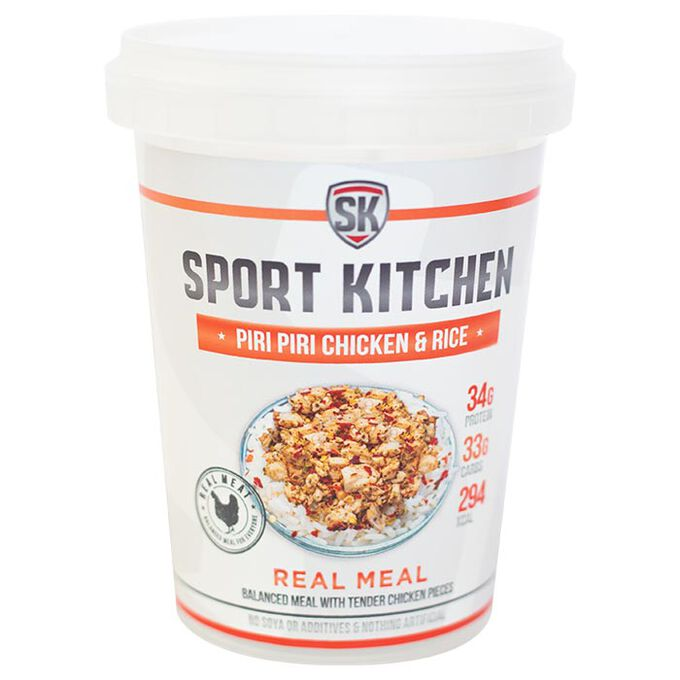Sports Kitchen Sport Kitchen Piri Piri Chicken Rice - Protein Meal