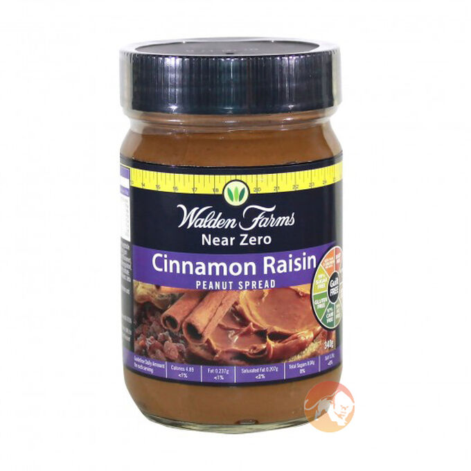 Walden Farms Peanut Spread - Cinnamon Raisin 340g