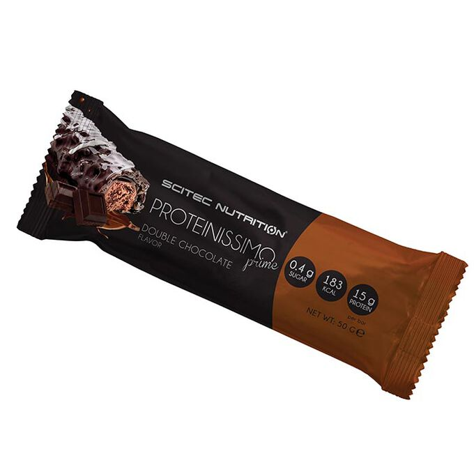 Scitec Nutrition Proteinissimo Prime 1 Bar Double Chocolate