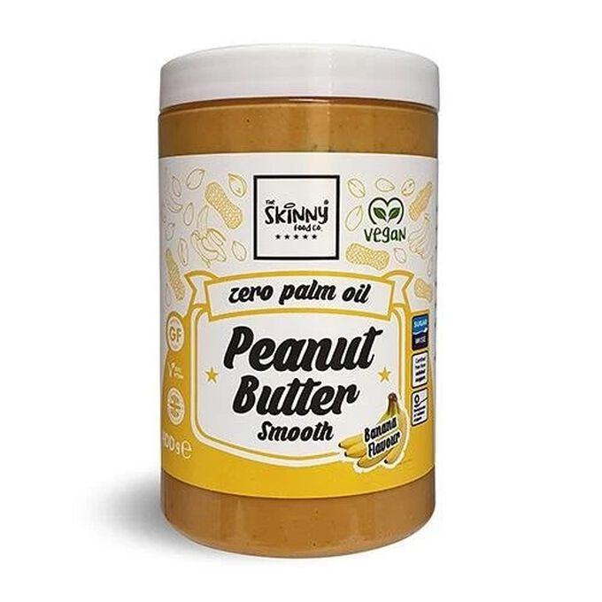 The Skinny Food Co 100% Banana Peanut Butter Smooth 400g