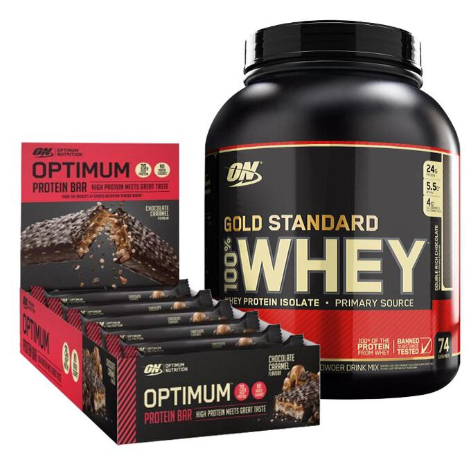 Gold Standard 100% Whey 2.27kg Double Rich Chocolate