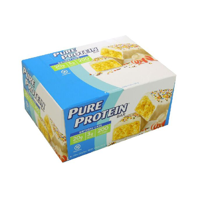 Pure Protein Pure Protein Bar 6 Bars Birthday Cake