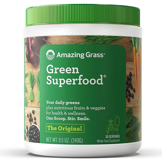 Amazing Grass Green SuperFood 30 Servings Chocolate