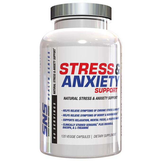 Stress & Anxiety Support 60 Capsules