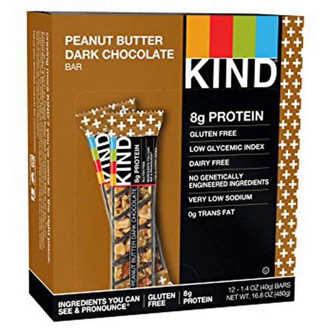 Kind Bars Protein 12 Bars Double Dark Chocolate Nut
