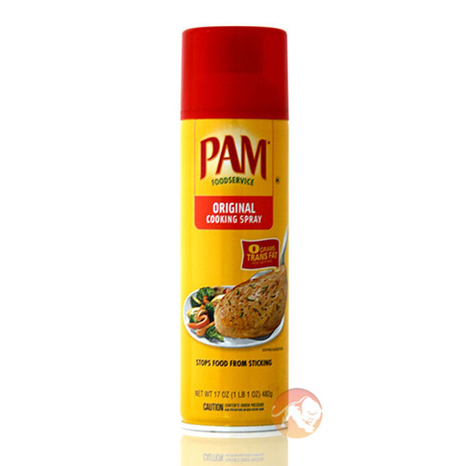 Can You Spray Pam On Food