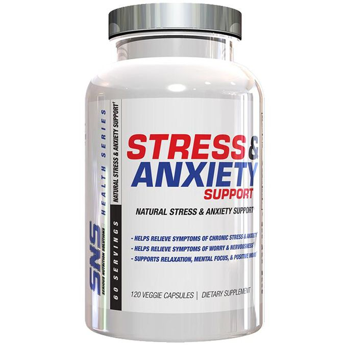 Serious Nutrition Solutions Stress & Anxiety Support