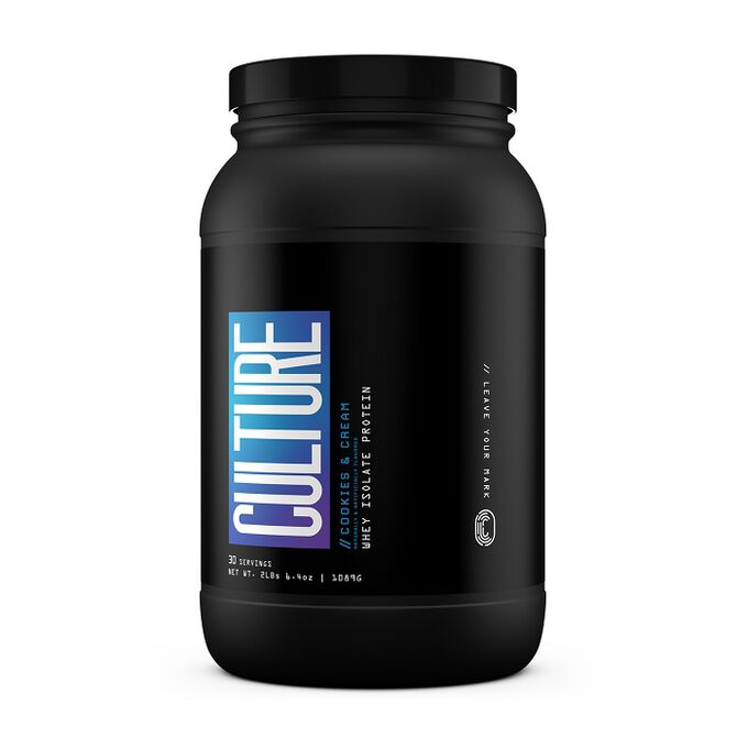 Culture Supplements Culture Whey Isolate Protein 902g Cookies & Cream