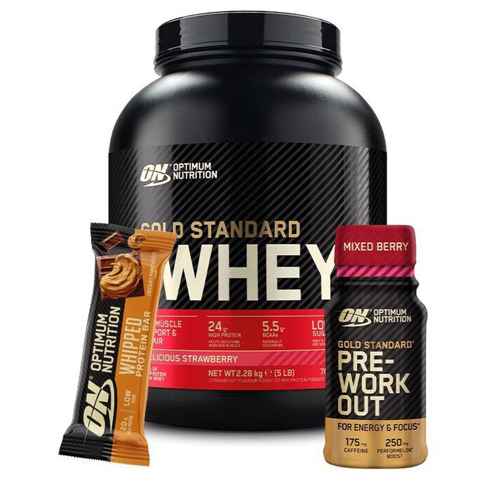Optimum Nutrition Gold Standard 100% Whey 2.27kg Double Rich Chocolate