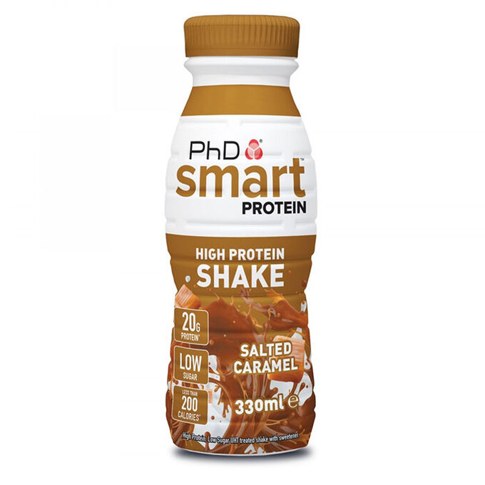 Smart Protein Shake RTD 1 x 330ml Salted Caramel