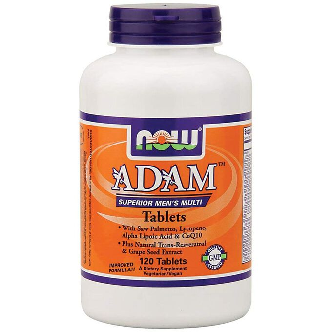 Adam Superior Men's Multi 120 Tablets