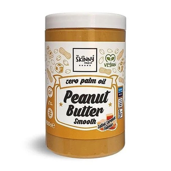 The Skinny Food Co 100% Salted Caramel Peanut Butter Smooth 400g