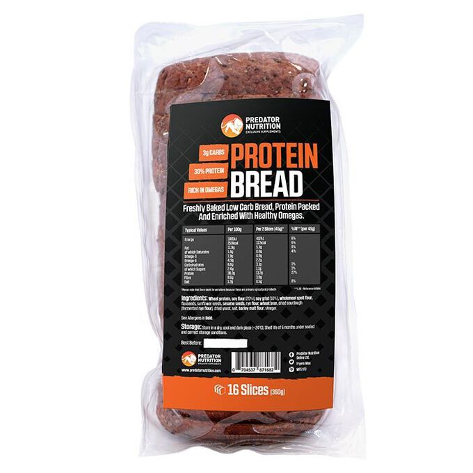 Predator Nutrition Low Carb High Protein Bread (Loaf 16 Slices)
