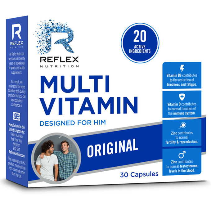 Reflex Reflex Multi Vitamin For Him Original 30 Capsules