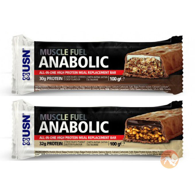 Muscle Fuel Anabolic Bar - Chocolate Cookies Crisp