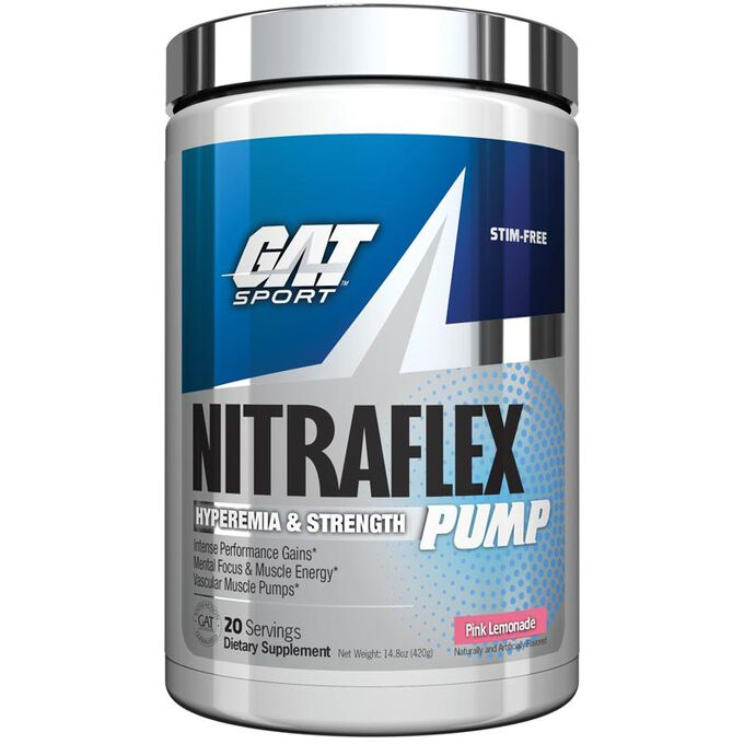 GAT Nitraflex Pump 20 Servings Fruit Punch