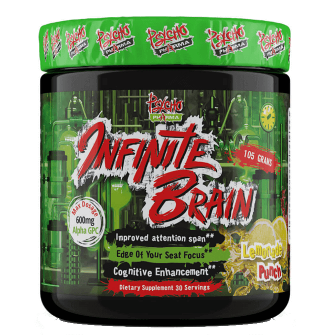 Infinite Brain 30 Servings Lemon Punch
