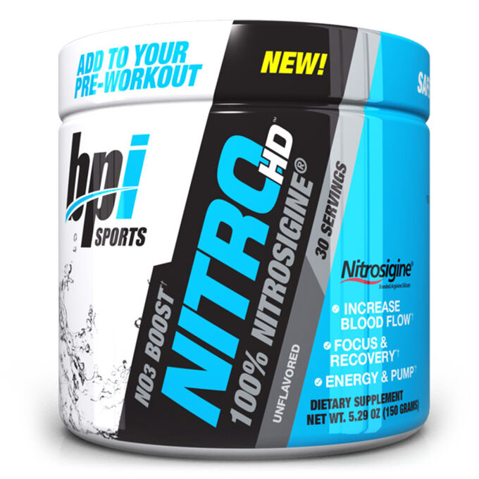 BPI Sports Nitro HD 30 Servings Unflavored