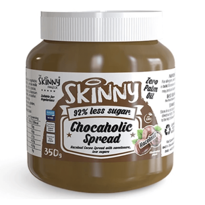 The Skinny Food Co Low Sugar Chocaholic Chocolate Hazelnut Spread 115g