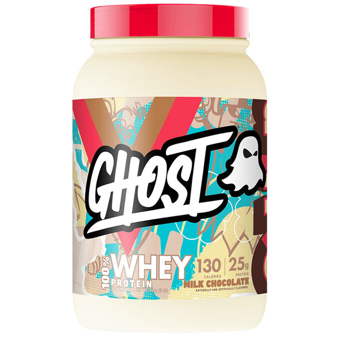 Ghost Whey Protein 924g Milk Chocolate
