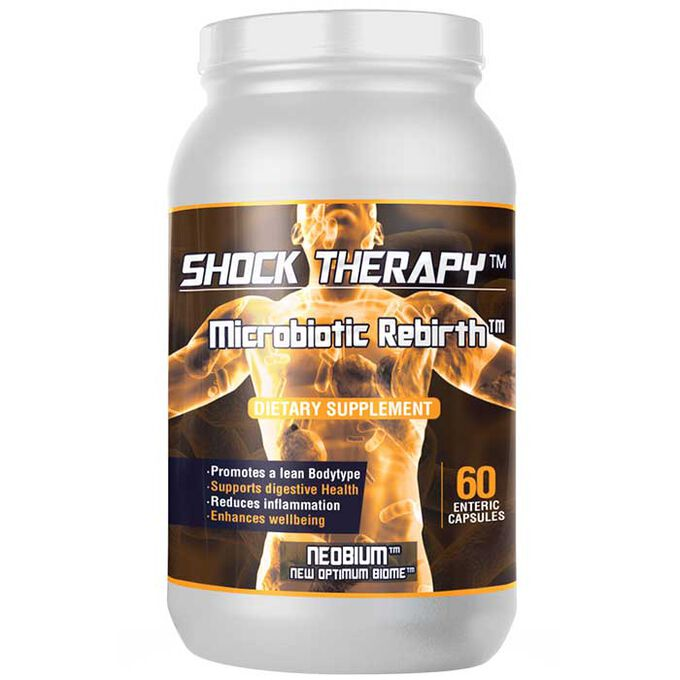 Shock Therapy Microbiotic Rebirth 60 Capsules