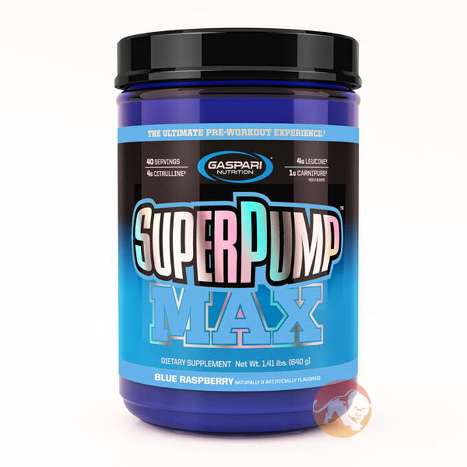 Superpump Max 640g Blue Raspberry