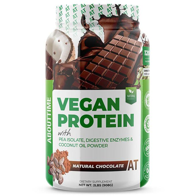 Vegan Protein 2lb - Chocolate