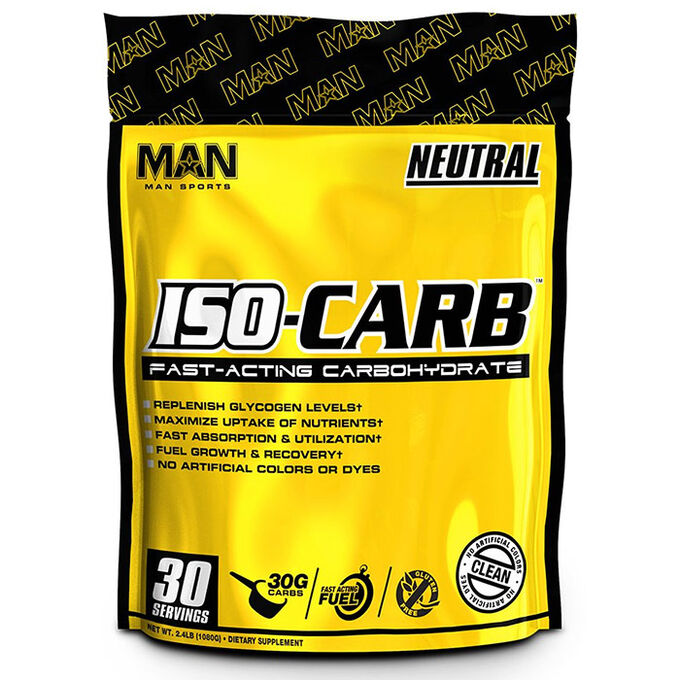 Man Sports ISO-CARB 30 Servings Neutral