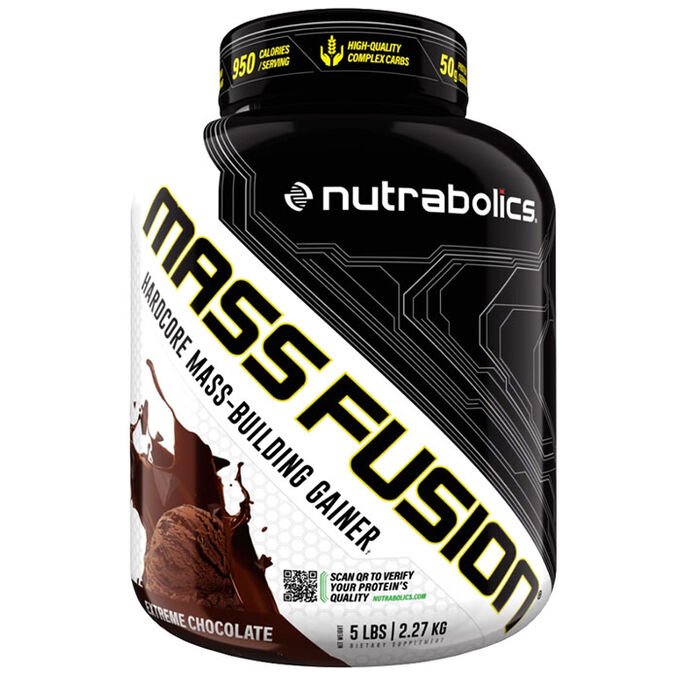 Nutrabolics Mass Fusion 2.27kg Chocolate