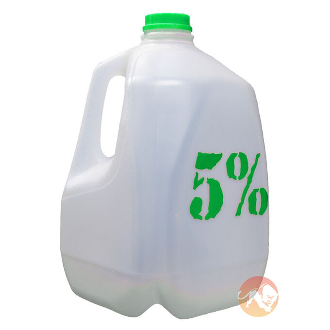 5% Nutrition Gallon Jug