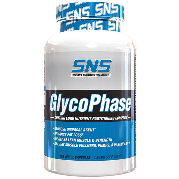 Serious Nutrition Solutions Glycophase 120 Caps