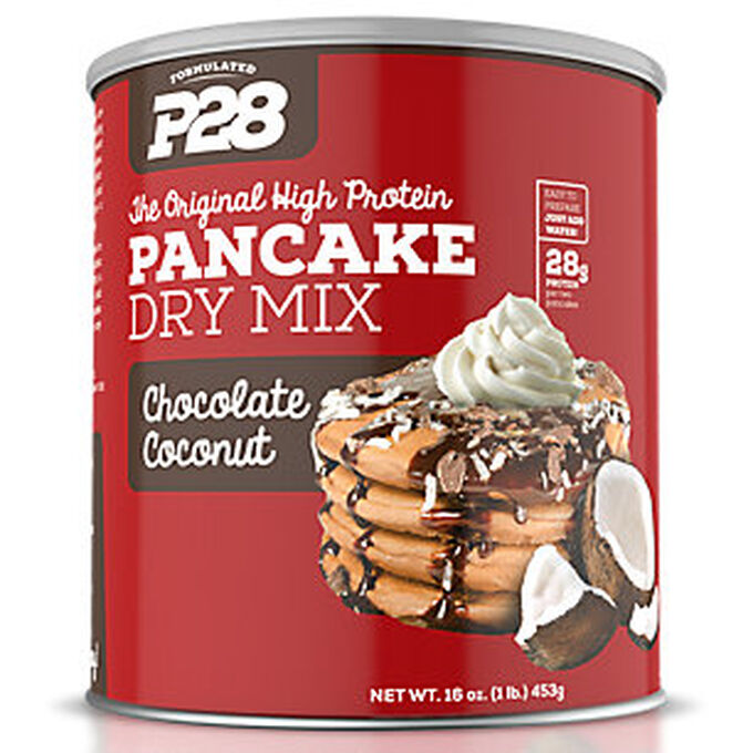 P28 High Protein Pancake Mix Chocolate Coconut 453g