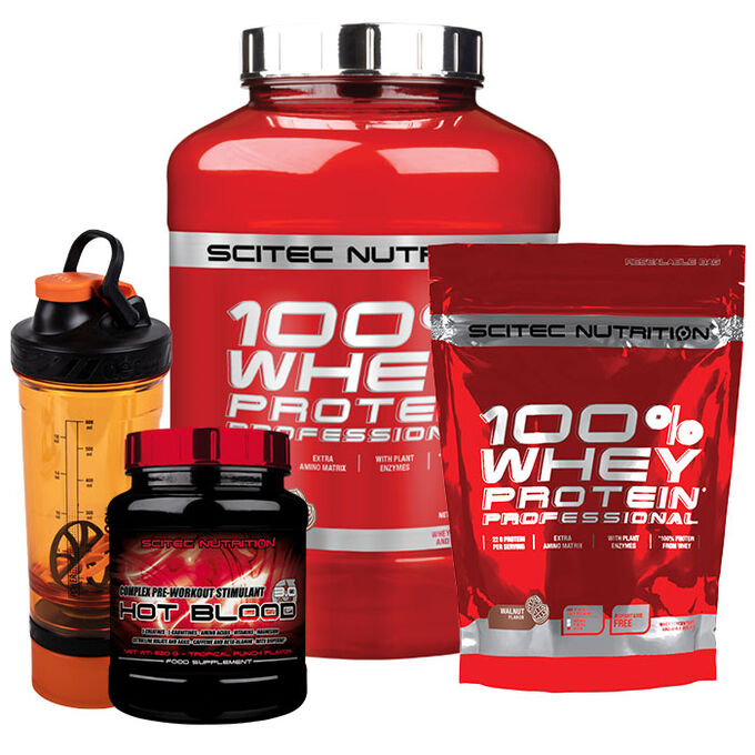 Scitec Nutrition 100% Whey Protein Professional 2350g Caramel