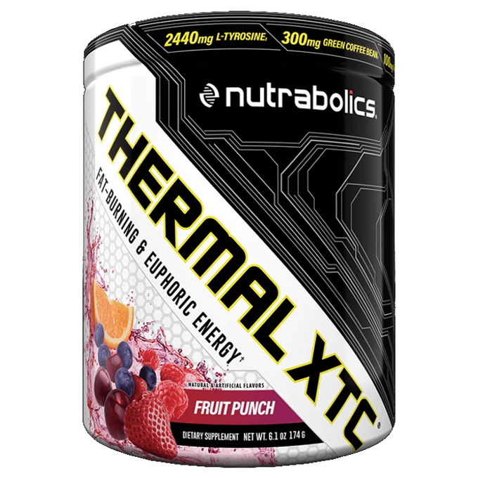 Nutrabolics Thermal XTC 30 Servings Fruit Punch